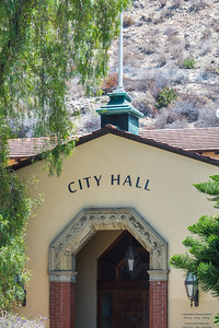 """Built in 1952, Laguna's City Hall was built on the site of the first home in the village, the Rogers """"old ranch house"""", with promises to maintain and preserve the large pepper tree in front…which is still there today."""