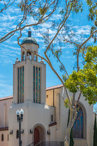 From its earliest beginnings in 1914, the Laguna Presbyterian Church we see today was constructed in 1928 at a cost of $26,500. Built in the Spanish Colonial architecture, the church was dedicated on March 18, 1928.