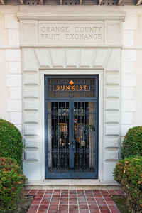 The Sunkist Orange County Fruit Exchange Building was built in 1922 and operated up until 1994 when it closed its doors.   At that time, Tom Porter and Lydia Passannante renovated and restored the buidling, eventually opening The Exchange Fine Arts Gallery in 1997.