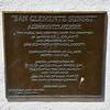 San Clemente Sunset plaque