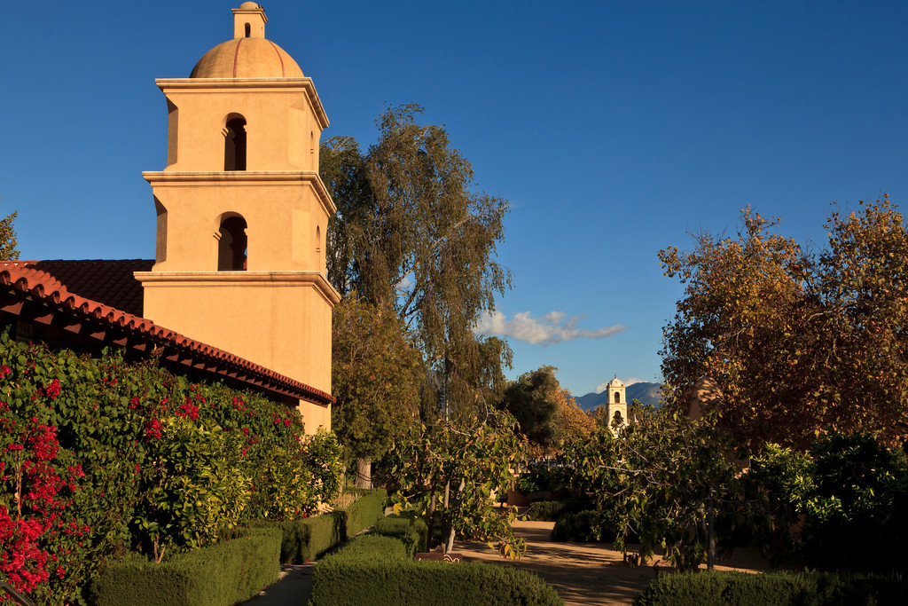 September - Ojai Valley Museum and Post Office tower.