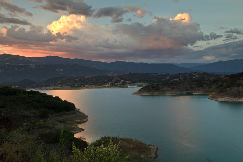 July - Lake Casitas.