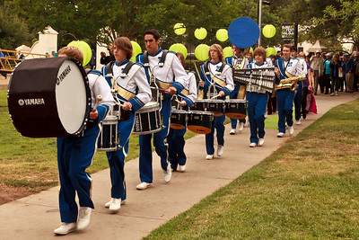 Nordhoff High School marching band