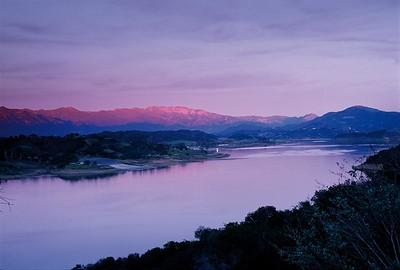 Lake Casitas and Pink Moment