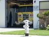 Garden Grove Fire Department Dalmatian Hydrant