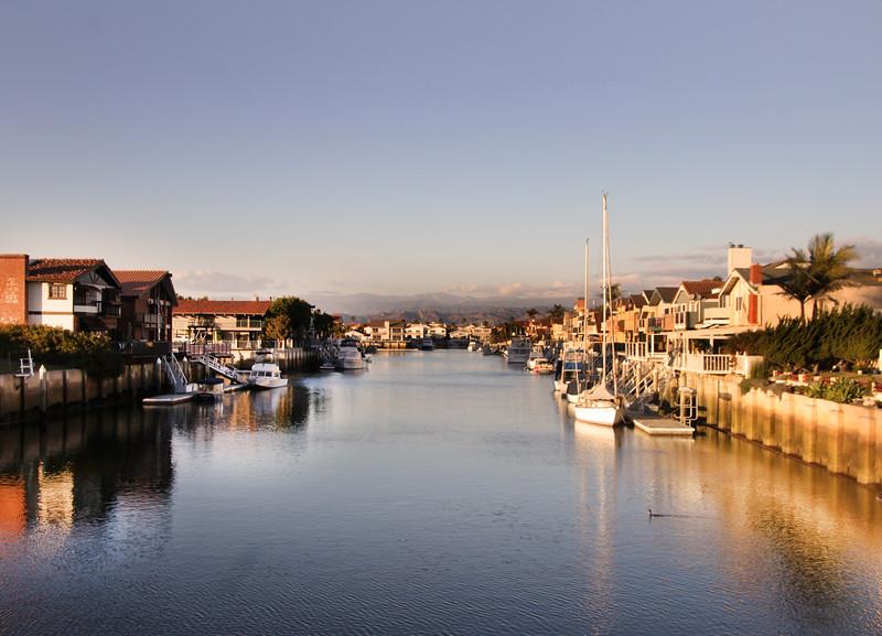 Oxnard California, Residential Marina