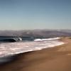 Oxnard California, North View on Beach
