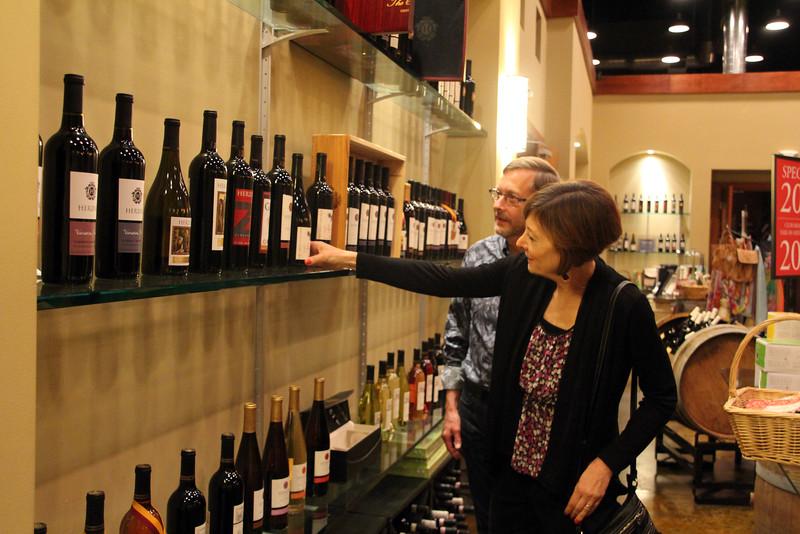 Oxnard California,  Herzog Wine Cellars Gift Shop & Wine Selection Room