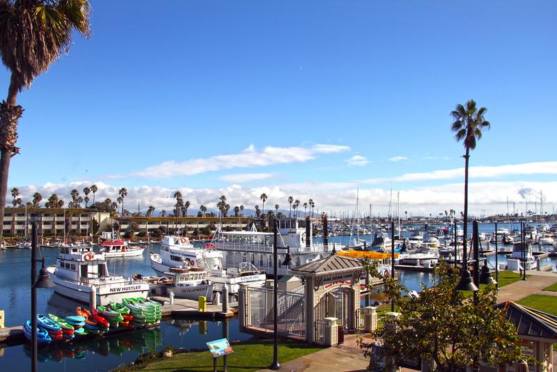 Oxnard California, View Over Marina