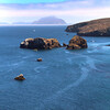 Santa Cruz Island, Channel Islands,  View Over Scorpion Bay