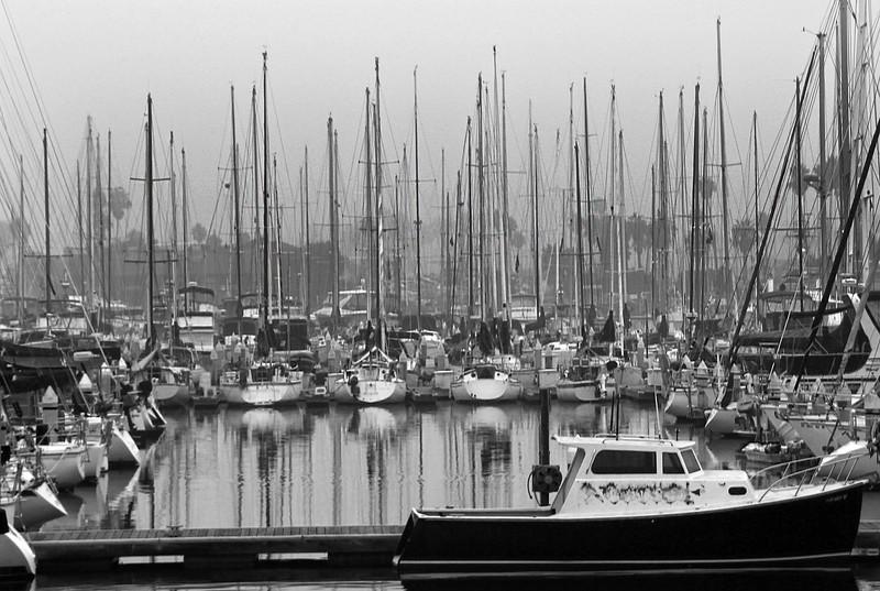 Ventura Marina, Boat Reflections