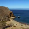 Santa Cruz Island, Channel Islands, View Down on Kayaks, Scorpion Anchorage