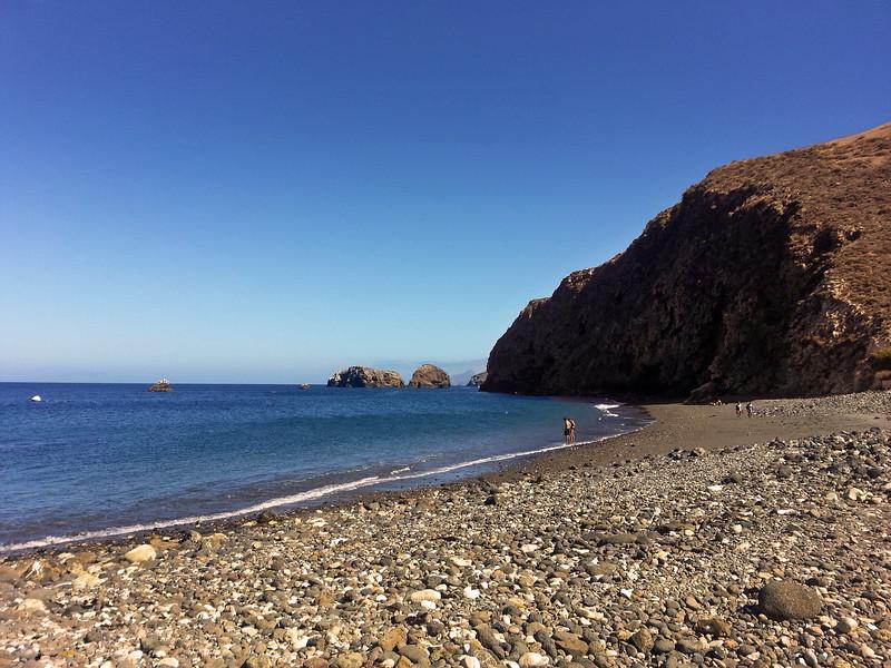 Santa Cruz Island, Channel Islands, Scorpion Bay, Beach Strollers