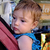 Backpack toddler with earring