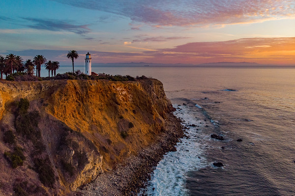 Sunset Over Point Vicente