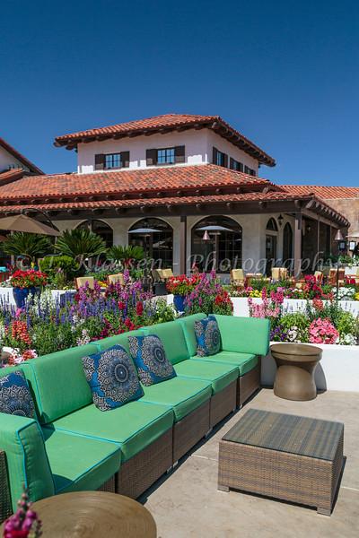 The Rancho Las Palmas Resort and Spa in Palm Desert, California, USA.
