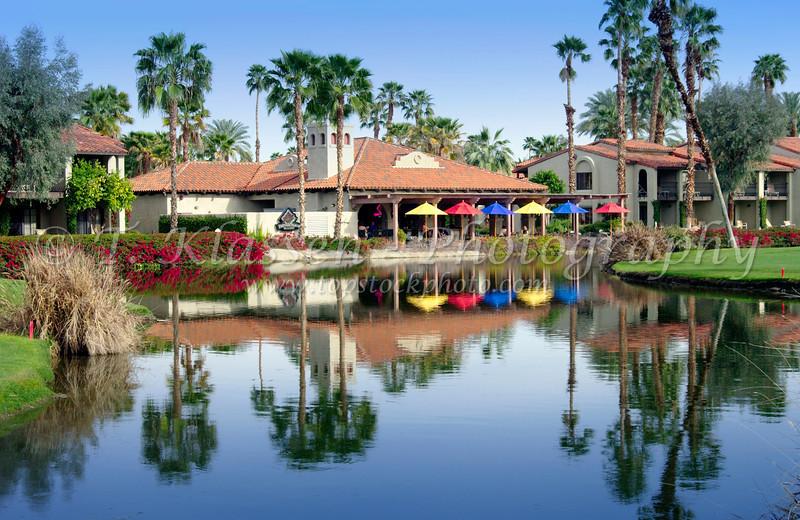 Rancho Las Palmas Marriott Resort in Palm Desert, California, USA.