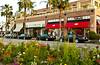 El Paseo shopping street in Palm Desert, California, USA.