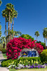 The Best Western Las Brisis Hotel sign in Palm Springs, California, USA.