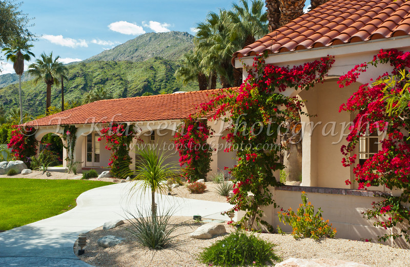 The Church of St. Paul in the Desert, Episcopal, Palm Springs, California, USA.