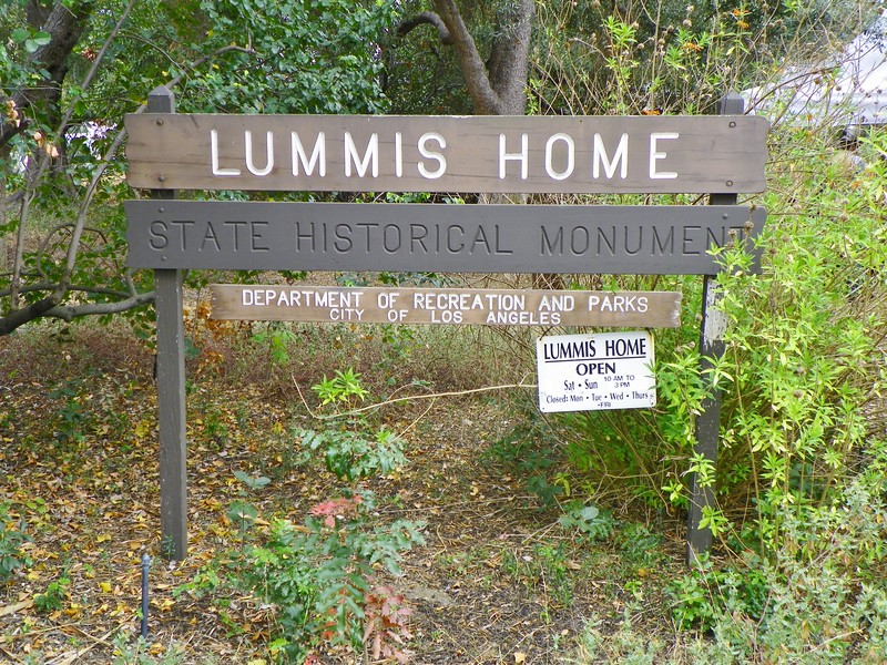 "Located at 200 E. Avenue 43 in L.A., the full names is ""Lummis Home & Garden"". Pronounced as it's spelled; not ""Loo-miss"". Also known as ""El Alisal"" (""Place of the Sycamores"")."