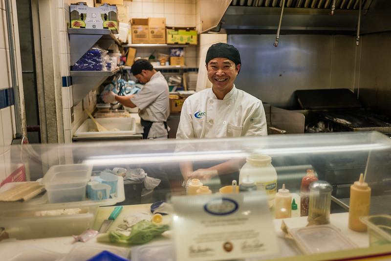 Number one sushi maker.  Petaluma, Ca.