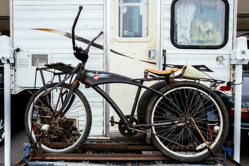 Custom retro Schwinn bike, Petaluma, Ca.