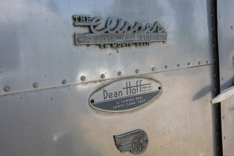 """The Clipper"" Silver Streak Trailer Emblem"