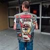 Jacket back. Veterans Day Parade 2016, Petaluma, Ca.