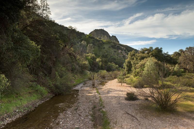 Creek Near Mountain