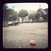 """My ongoing """"Squished Fruit in the Streets of San Francisco"""" project. <br /> <br /> Seriously, I have never seen roadkill in the form of fruit before we came to SF. And it is everywhere. Very indicative of the culture."""