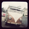 Old VW bus parked at the top of Southern Heights Ave.<br /> <br /> TTV photography provides some challenges in terms of leveling, since everything is backwards.