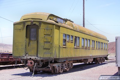 Passenger Car on display in Barstow Railroad Museum  10/06/10