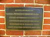 Memorial plaque to Merced