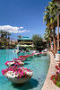 The shopping and entertainment complex The River in Rancho Mirage, California, USA.