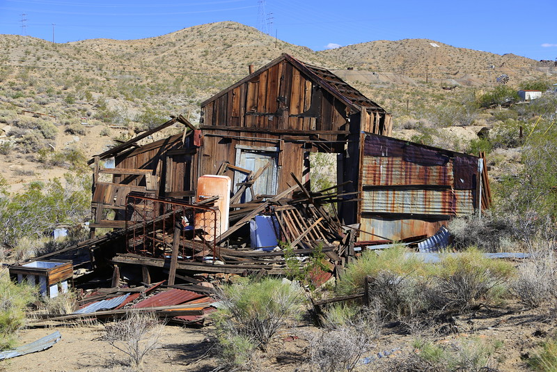 Randsberg was a gold mining town, it's just off HWY 395 south of China Lake, CA