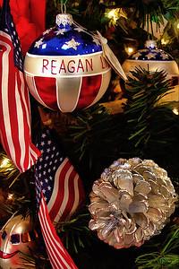 Xmas Ornaments Ronald Reagan Library