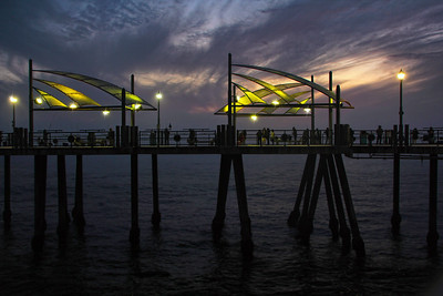 Twilight at Redondo Beach Pier Redondo Beach CA