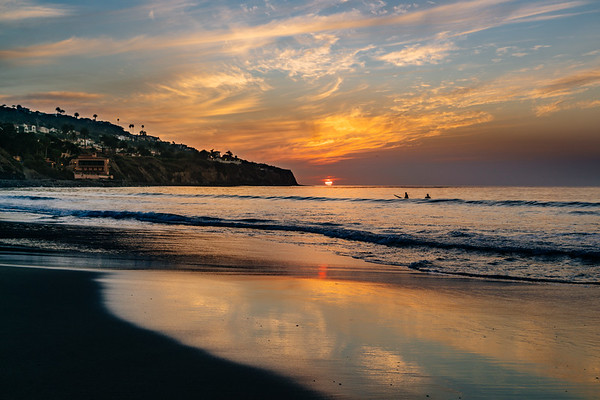 Sunset at Rat Beach