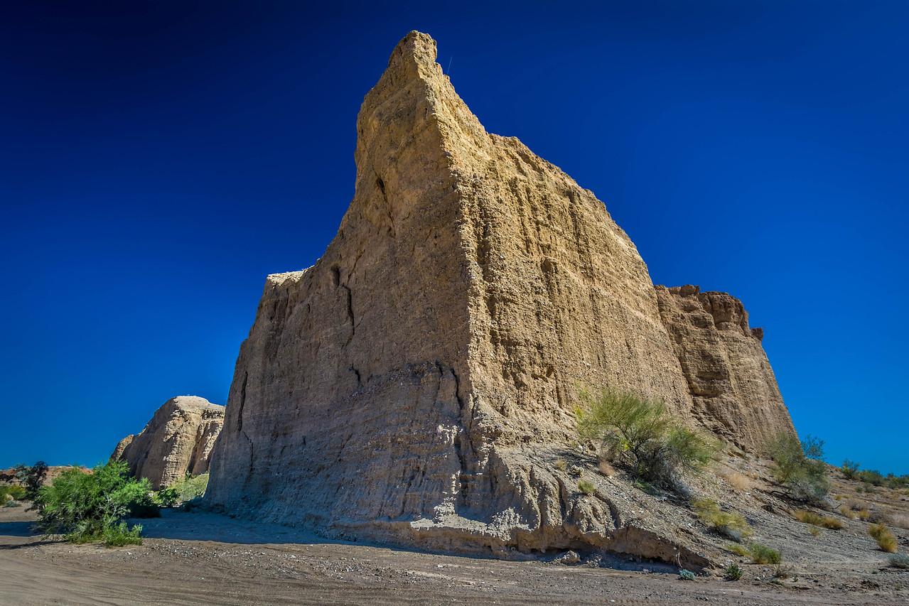 Canyon Entrance - Red Canyon, CA, USA