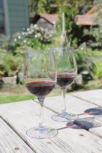 Our vino.