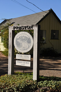 Preston Vineyard: great winery to visit in Dry Creek Valley (Sonoma County)