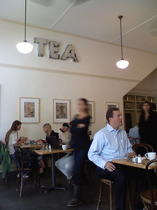 Tea Room in Petaluma. Delicious grub and tasty tea.