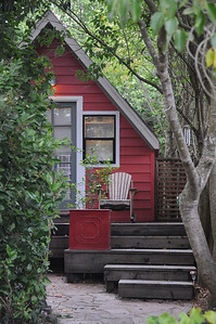 Alice's Nest in Petaluma. Nice little Euro digs in small Cali town.