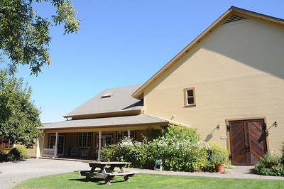 The Preston tasting room and production house.
