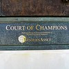 Court of Champions shows the names of Rose Bowl winning schools.