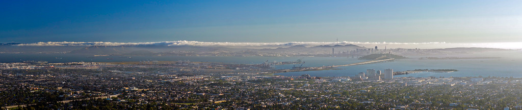 Bay Area from Claremont Canyon trail