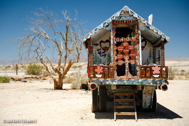 Salvation Mountain, Slab City, May 2013.