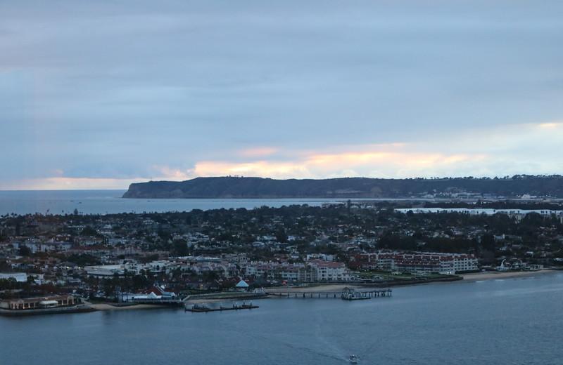 View of Coronado Island