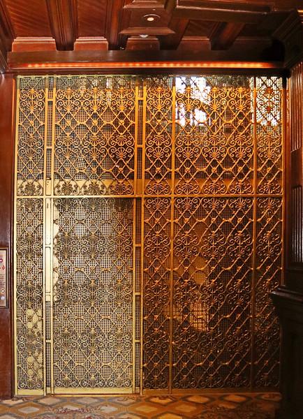 Hotel Lobby Elevator Door